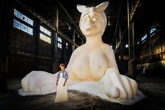About Last Night | A Sweet Celebration of Kara Walker's Giant Sugar Sculpture - NYTimes.com