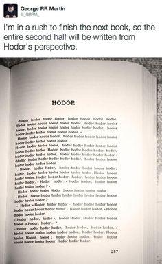 Chapter of Hodor