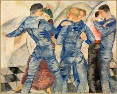 Vintage Circus Performers   Dancing Sailors, 1917