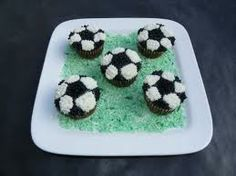soccer cupcakes - Google Search