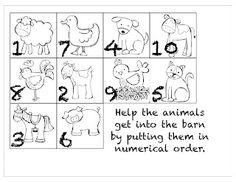 157 Best Farm Animals Math Images Preschool Kindergarten Farm