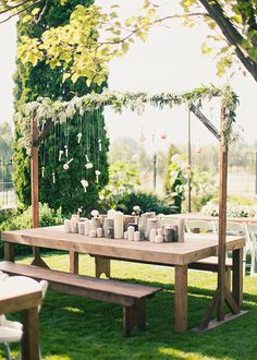 studio stems alix loosle -- Gorgeous draping to cover poles and frame of tent? Love it!