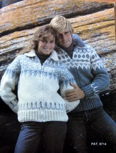 COWICHAN  Sweater Knitting Pattern  Adult from by raincoaststudio