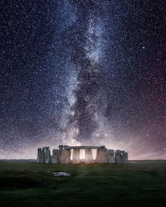 Stonehenge Milky Way by Mads Peter Iversen on Fstoppers