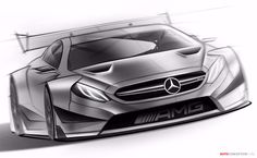 2016 Mercedes-AMG DTM Team Race Car