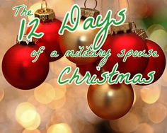 New words to an old song, The 12 Days of (a military spouse) Christmas!