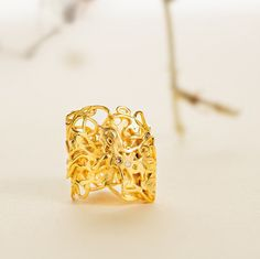 Promenade,Fairmined gold,Gold ring with 3 diamonds, Ethical 18ct gold,fair trade,Fairmined diamonds,ethicaly sourced conflict free diamonds by EmilieBliguetJewelry on Etsy