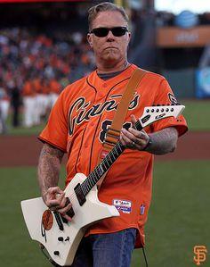 San Francisco Giants, S.F. Giants, photo, 2014, Metallica,