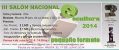 Cultura de Córdoba: III Salón nacional de escultura-objeto Pequeño For...