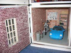 Love this miniature garage