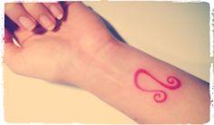 Leo Sun Sign Tattoo