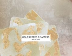 Gold-Leafed-Coasters-Style-Me-Pretty-Design-Crush
