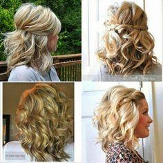 Un peinado hermoso para no poner las extensiones únicamente Chinos caídos y una trenza acostado,súper tierno y bonito.
