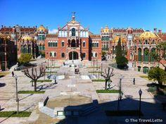 Hospital Sant Pau #Barcelona  Top Geheimtipps in Barcelona: http://thetravellette.com/top-geheimtipps-fuer-barcelona/
