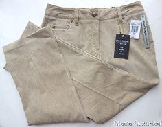 NWT Women's Corduroy Pants 6P Zac & Rachel Short Length Tailor Free Camel $60 #ZacRachel #Corduroys