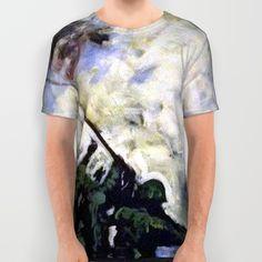 """A Common Virtue""  All Over Print Shirt by artist Matt Pecson Iwo Jima American Art"