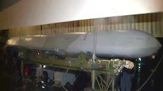 Instalación de un misil de crucero X-101 en un bombardero estratégico ruso Tu-160