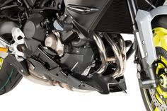 Belly pan for YAMAHA MT09 '17! Carbon! by Puig