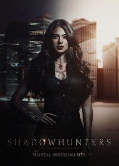 Shadowhunters | Isabelle Lightwood by Riotovskaya.deviantart.com on @DeviantArt
