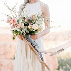 Enchanting Desert Elopement Session with tender pastel colors and magical flower arrangements. We love the artful images shot by @_jacquelyn_hayward.  Flowers: @soilandstem | Ribbon: @froufrouchic & @sagefloral | Gown: @shopgossamer | Suit: @jcrew  See more on our #weddingblog #hochzeitsguide, #elopement #desert #utah #weddinginspirations #weddinggown #bride #weddingflowers #bridalhair l #weddingideas #weddingphotographer #fineartweddings #fineartphotography #filmphotography…