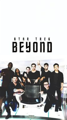 Main cast of Star Trek Beyond 2016