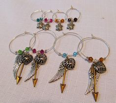 wine charms :D