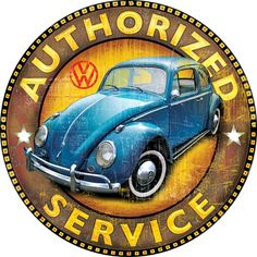 Classic Car News – Classic Car News Pics And Videos From Around The World Vw Vintage, Vintage Metal Signs, Vw Volkswagen, Vw T1, Van Vw, Morgan Cars, Vw Cars, Ad Art, Vw Beetles