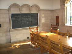 Irish Class Room at The Cathedral of Learning at The University of Pittsburgh