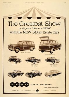 Illustrated London News Ford Ad - http://designspiration.net/image/49071339102/