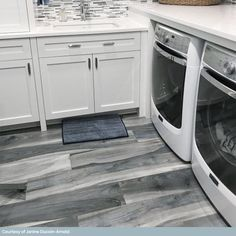 Grey Wood Tile, Grey Wood Floors, Wood Tile Floors, Wood Look Tile, Bathroom Flooring, Kitchen Flooring, Camper Flooring, Wood Floor Design, Wood Floor Kitchen