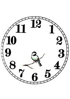 . Clock Template, Face Template, Clock Art, Diy Clock, Clocks, Clock Face Printable, Watch Wallpaper, Photo Transfer, Quilling Patterns