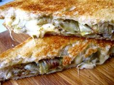 Breakfast, Lunch or Dinner - Here's Our Best Grilled Cheese Sandwich Recipes: Roasted Artichoke Grilled Cheese