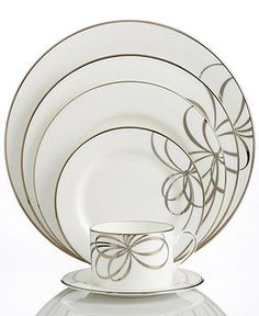 kate spade new york Dinnerware, Belle Boulevard Collection - Fine China - Dining & Entertaining - Macy's