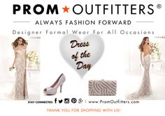 Dress of the Day! - Prom Outfitters  Style: Tarik Ediz 92388 $640.00 http://www.promoutfitters.com/tarik-ediz-92388 Shoes: Blossom Footwear Robin 52 $59.99 http://www.promoutfitters.com/blossom-footwear-robin-52-1 Bag: City One 40008 Silver $70.00 http://www.promoutfitters.com/index.php/cityone40008silver/