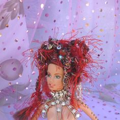 Art Doll Barbie Doll Steampunk Art Robotic by mystic2awesome