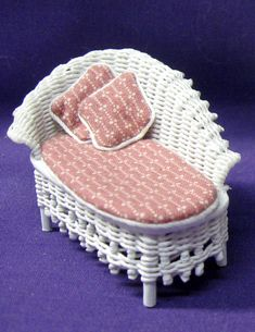 Wicker Fainting Couch
