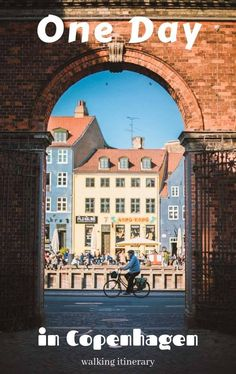 One Day In Copenhagen - Your Walking Itinerary - Travel Monkey This one day in Copenhagen itinerary compiles no less than 25 major sights that you can explore on foot in Copenhagen in one day on a short visit or a layover. #Copenhagen #Denmark