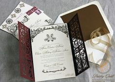 This is a spanish style/theme wedding invitation