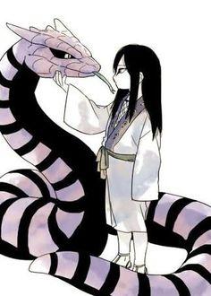 Orochimaru uno de los legendarios Sannin