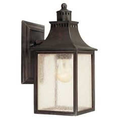 Laurel Foundry Modern Farmhouse Kingston 1-Light Outdoor Wall Lantern