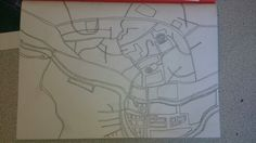 Mirfield abstract map 4