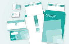 Criação do material de papelaria para escritório de arquitetura