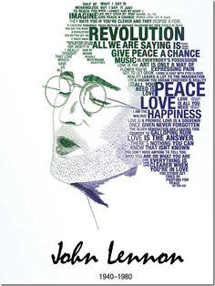 John Lennon - 1940 - 1980