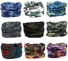 Headwear Bandanas Wrap Scarf Headscarf Blue Pink Pixels Pattern Seamless Fabric Texture Elastic Seamless Bandana Scarf Uv Resistence Sport Headwear