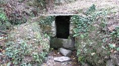 (701, SW 849 358, Explorer 105) Walks And Walking St Just Church Roseland Cornwall Holy Well