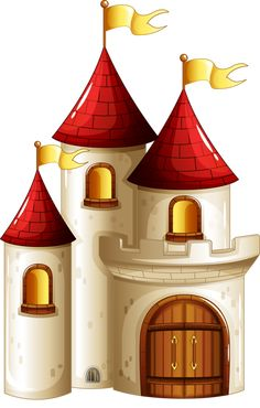 cartoon castle free cartoon castle clip art once upon a mattress rh pinterest com castle clipart pictures jumping castle images clip art