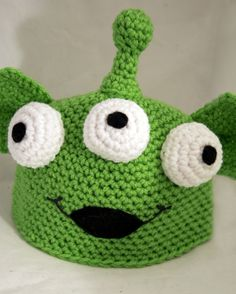 Alien Beanie/Hat/Cap $20.00, via Etsy.