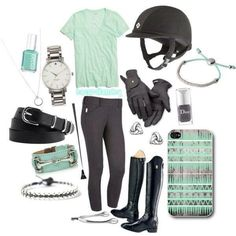 Equestrian summer outfit
