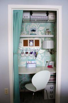 Gorgeous Closet Office