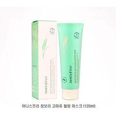 INNISFREE Green Barley Gommage Peeling Mask 120ml Fermentation K-Beauty #INNISFREE